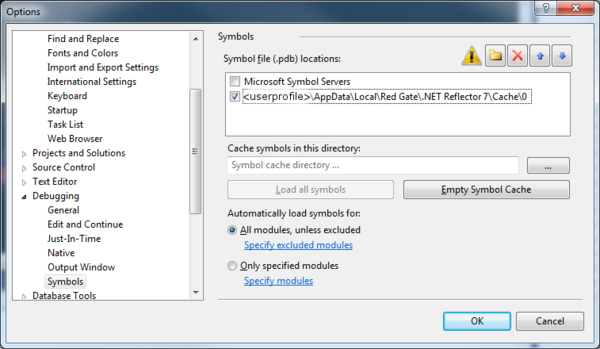 Remote debugging in ASP Net with Reflector Pro, Part 1