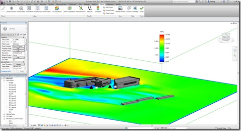 CFD Integrated into Revit - Building Performance Analysis