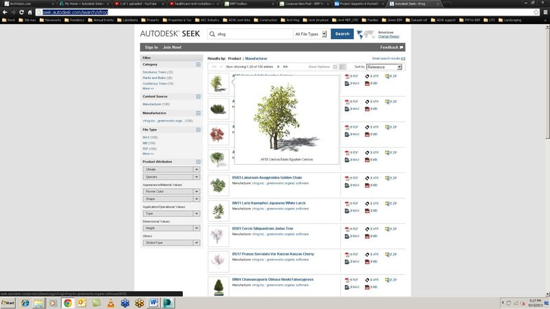 ADSK seek trees