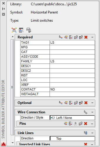 Autocad Electrical Symbol Builder Attribute Templates Autocad