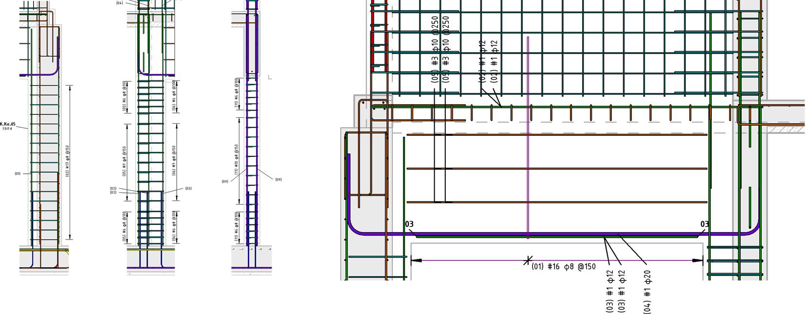 Rebar Detailing In Revit Use Case By Vk Engineers Bim
