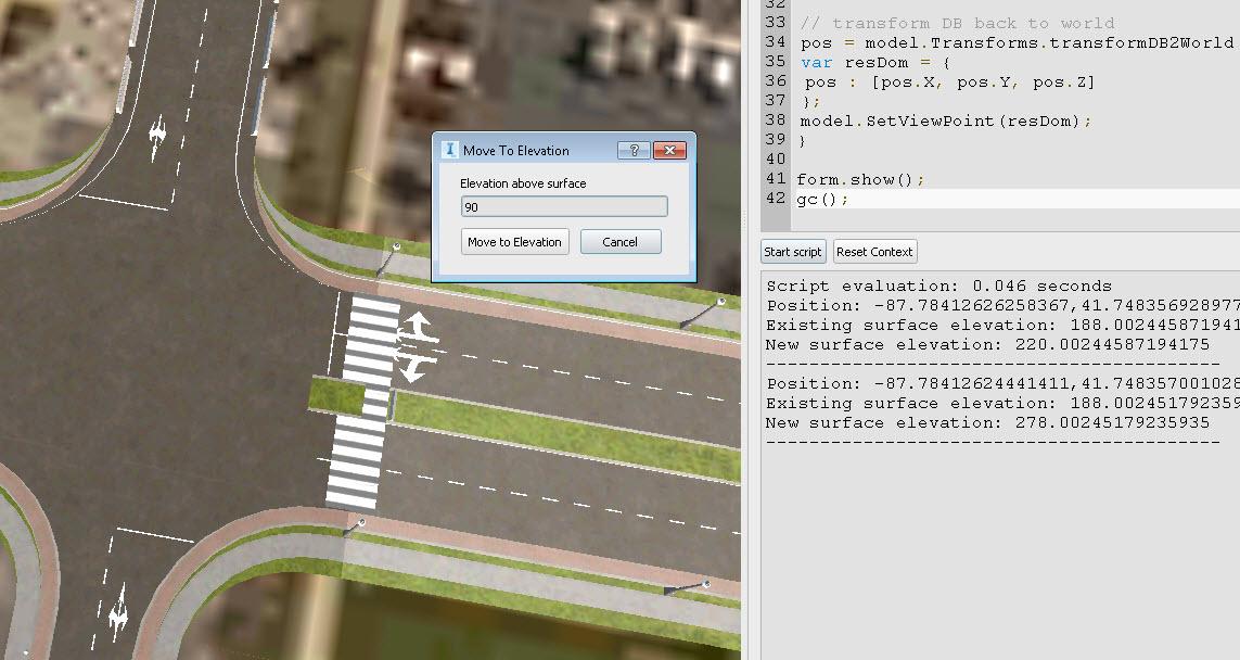 Change viewport elevation using this script - BIMagination