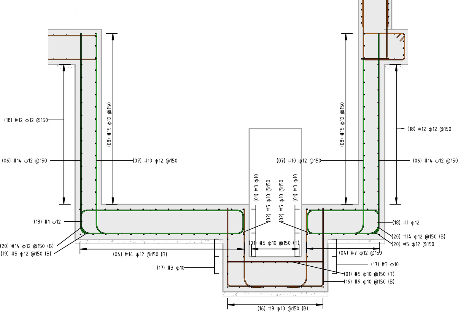 Concrete Reinforcing Steel Detailing : Rebar detailing in revit use case by vk engineers bim