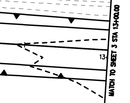 Match Lines on Drawings Dynamic Match Line Blocks
