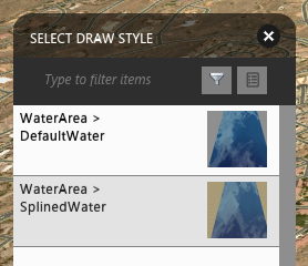 Select_water_area_style