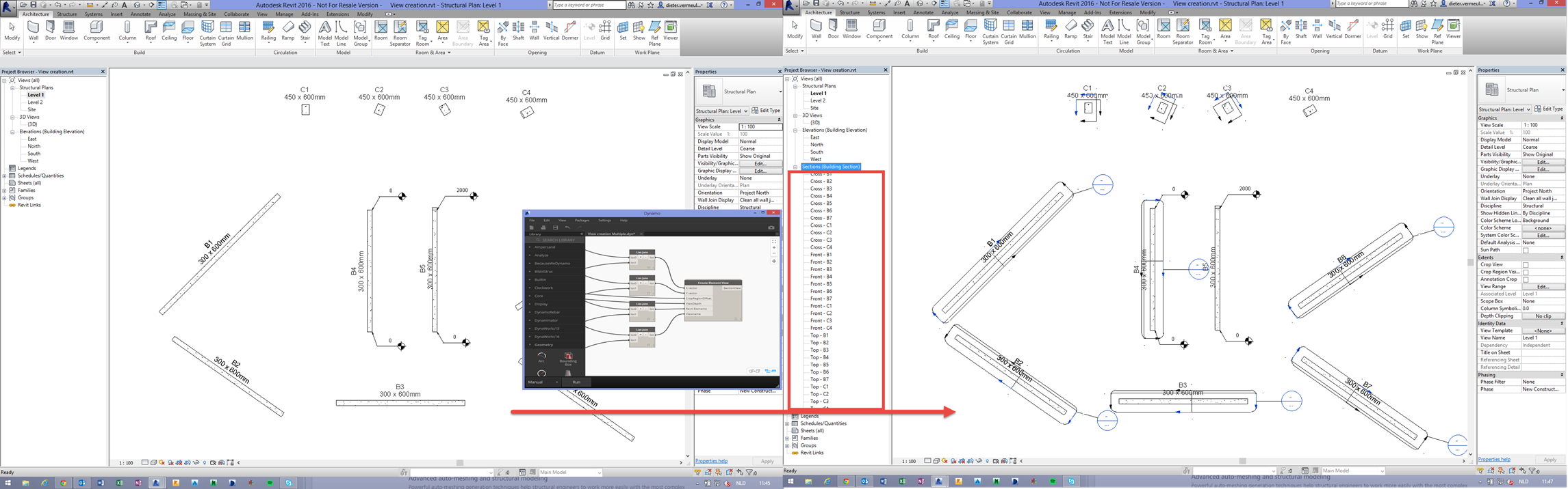 Automatic Element View Generation in Revit with Dynamo - BIM