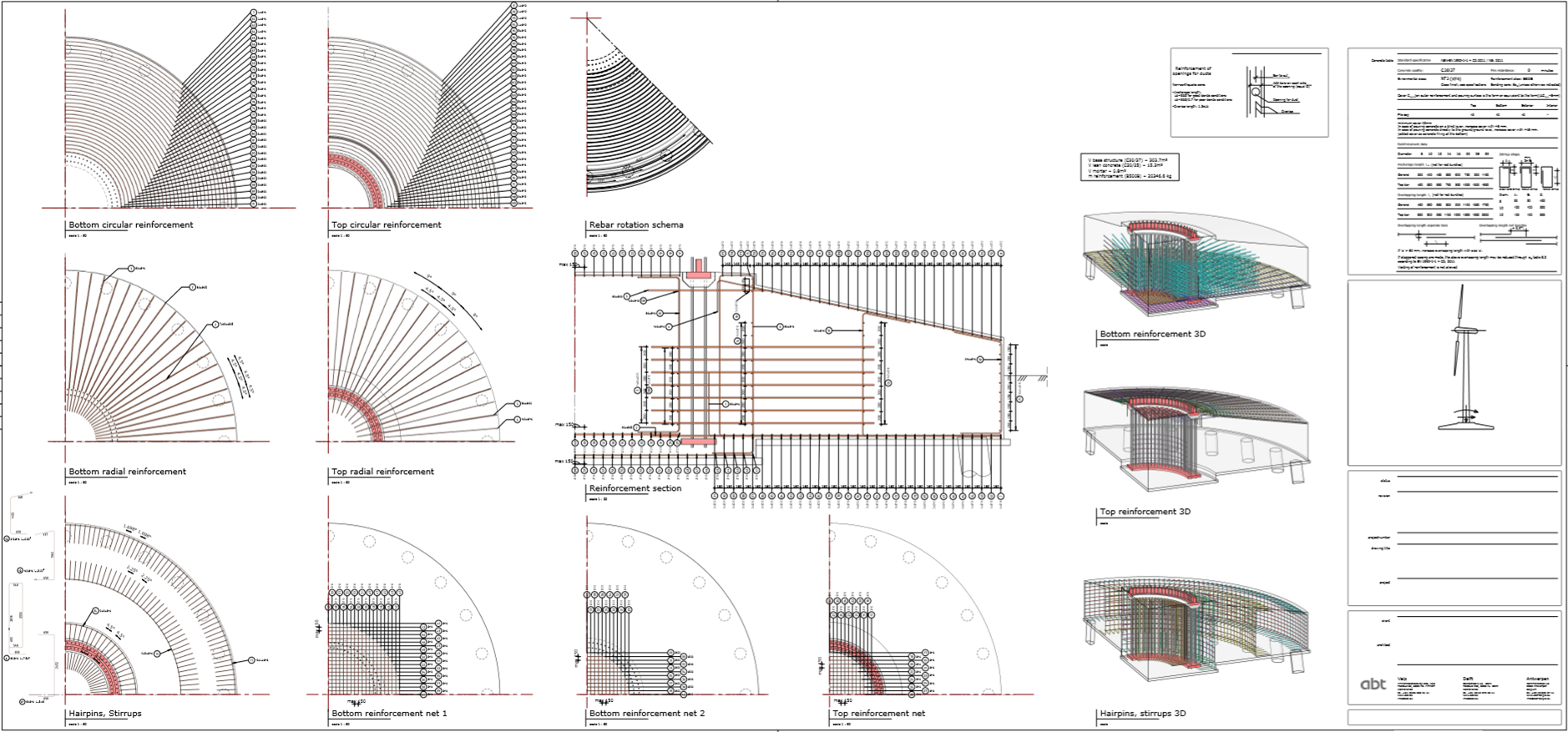 Rebar modelling in revit with dynamo use case by abt for How to read foundation blueprints