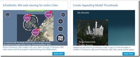 BIMagination: InfraWorks 360 web viewer