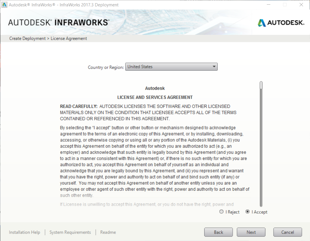 How to deploy InfraWorks to your users through a multi-seat