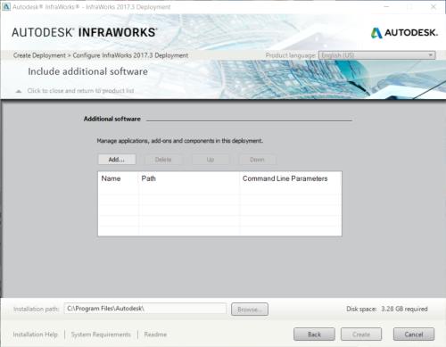 Additionalsoftwareindeployment