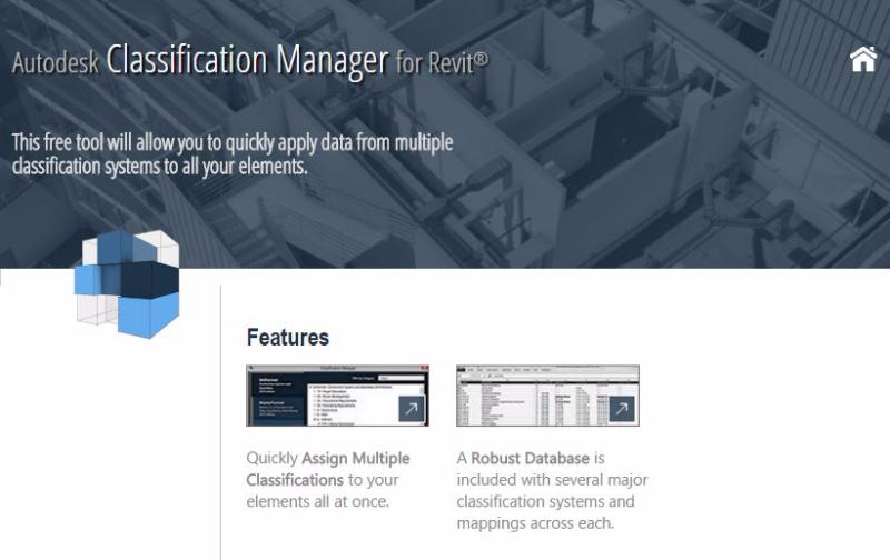 Revit Classification manager free BIM Interoperability tools